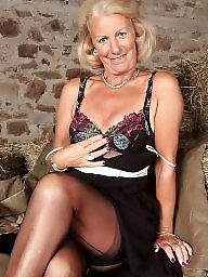 Mature stockings, Stockings, Mature, Wide
