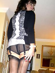 Mature stockings, Amateur mature