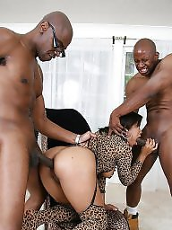 Group sex, Melody, Ebony group