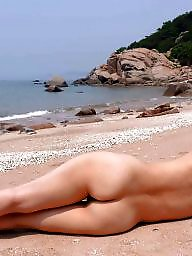 Nude beach, Korean, Beach milf, Asian milf, Milf beach, Asian beach