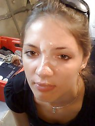 Amateur facial, French, Facials, Amateur blowjob, Amateur facials