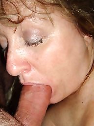 Mature slave, Cock sucking, Sucking, Mature boobs, Mature blowjobs, Mature suck