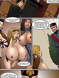 Femdom cartoon, Cartoon, Femdom, Big boobs cartoon, Femdom cartoons