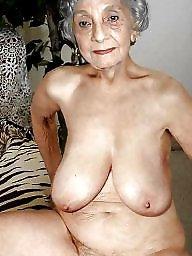 Granny, Granny tits, Granny big tits, Mature big tits