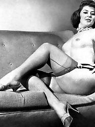 Vintage stockings, Vintage amateur, Amateur stockings, Vintage, Stiletto