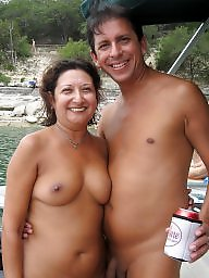 Public nudity, Couples, Amateur couple, Couple