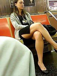 Thighs, Miniskirt, Leggings, Leg, Sexy legs, Slit