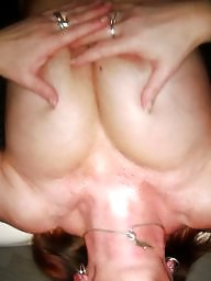 Massage, Table, Wife blowjob, Wife