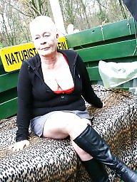 Grandmother, Old mature, Dutch, Amateur mature