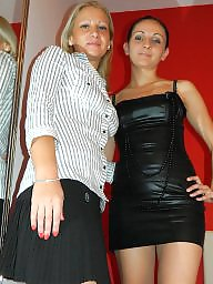 Young girl, Mother, Mature lesbians