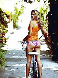 Upskirt,amateurs, Upskirt bicycle, Toes, Toe camel, Bicycling, Bicycles