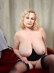 Big mature, Mature big, Wanking, Mature boobs