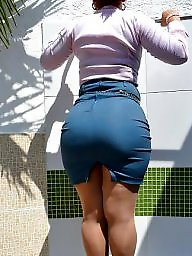 Big booty, Milf big ass, Skirt, Booty, Big ass milf, Milf ass