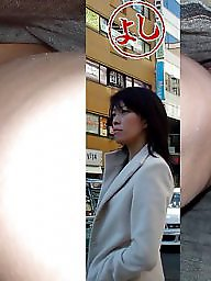 Asian upskirt, Asian voyeur