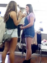 Jeans ass, Short shorts, Jeans, Hidden cam, Shopping, Teen shorts