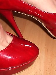 Heels, Feet, High heels, Stocking feet, Amateur feet