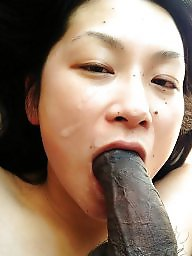 Asian wife, Cheating wife, Black cock, Cheating, Creampie, Wife fuck