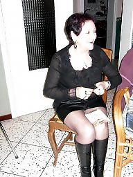 Amateur nylon, Aunt, Nylons, Nylon, Amateur stockings, Stockings