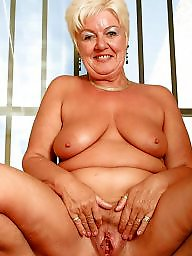 Granny, Mature big tits, Granny boobs