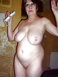 nudist Natural hairy granny