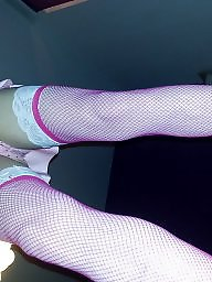 Pink stocking, Pinkness, New stock, New amateurs, New amateur, New outfit