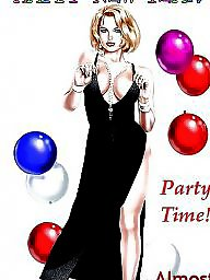Partying, Party,parties, Party cartoons, Party cartoon, Party, Parties