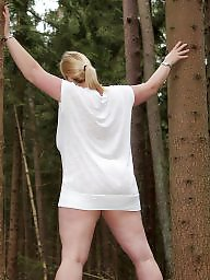 Bbw outdoor, Bbw flashing, Outdoors, Outdoor, Amateur outdoor, Bbw