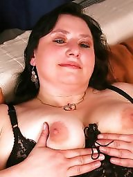 Chubby mature, Clothed