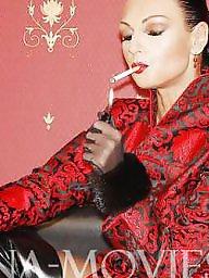 Mature femdom, Sexy mature, Smoker