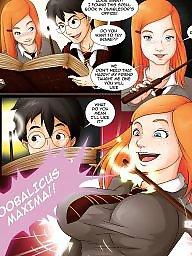 Potter, Spell, Harry, Harris, Harried, Forbidden cartoon