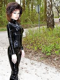 Mature leather, Latex, Latex mature, Amateur boots, Pvc, Amateur latex