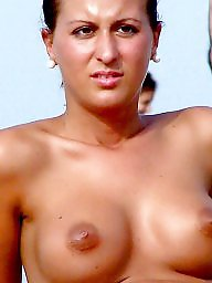 Beach mature, Mature beach, Mature boobs