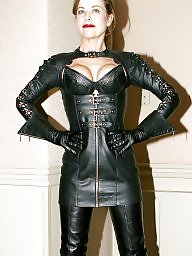 Leather, Gallery, Leather milf, No tits, Milf bdsm