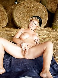 Toys, Old, Granny sex, Old grannies, Farm, Mature dildo