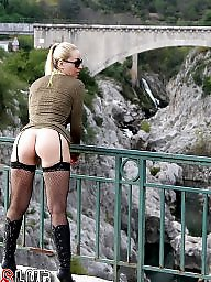 Public blonde, Public amateur flash, J-place, Flashing in public, Flash places, Flash in public places