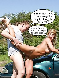 Mom, Mom boy, Moms, Italian, Young mom, Milf mom