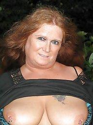 Amateur wife, Redhead