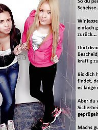 German caption, Femdom captions, German, German captions, Teen captions, Teen caption