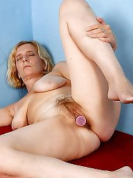 Open legs, Hairy legs, Leggings, Hillary, Mature hairy