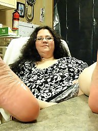 Feet, Fat, My wife, Bbw feet