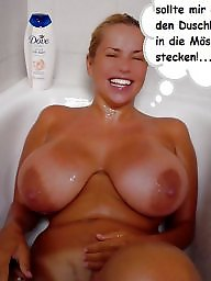 Milf captions, German milf, Milf big ass, German captions, German, Caption