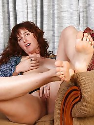 Mature redheads, Foot fetish