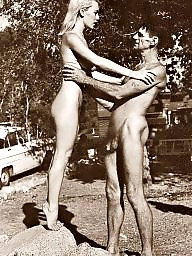Vintage, Nudists, Nudist, Public