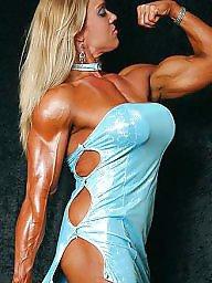 Heels, Femdom, Bodybuilder