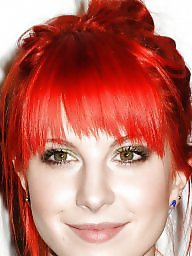 Williams,, Williams, William, Redheads celebrity, Hayley williams, Hayley
