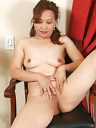 Mature asian, Spreading, Moms