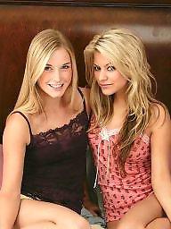 Lesbians, Stripping, Lesbian, Teen lesbians, Blonde teen