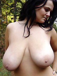 Mature big tits, Saggy