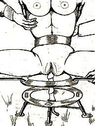 Bdsm cartoons, Bdsm cartoon