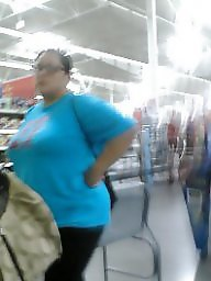 Walmart, Sawing, On her, Her bbw boobs, Big at, Bbw walmart
